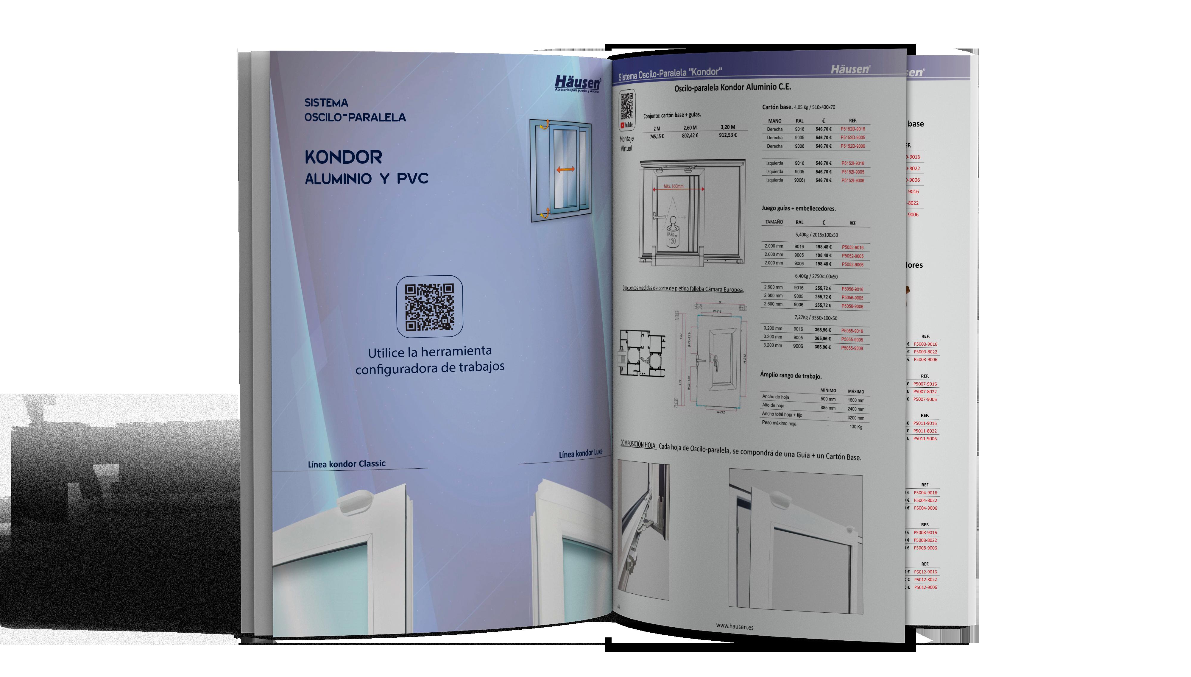 Catálogo Oscilo Paralela Kondor