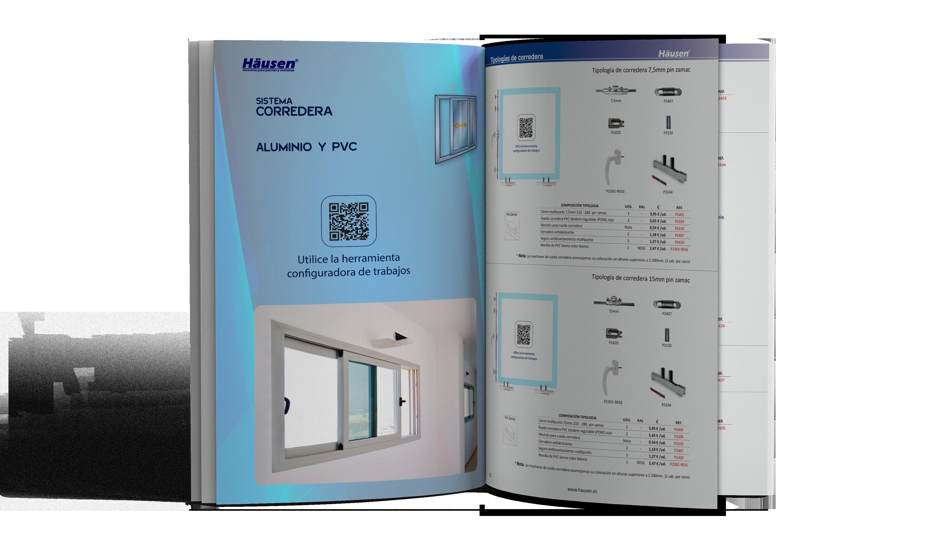 Catálogo Sistema Corredera Aluminio y PVC