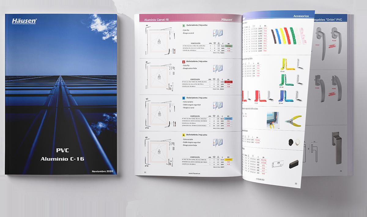 Descarga del Catálogo para ventanas y puertas de Aluminio y PVC