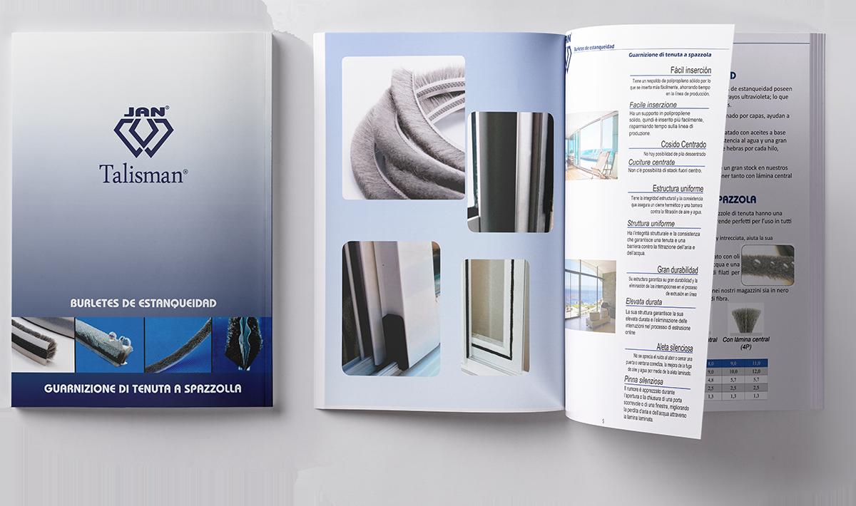 Descarga catalogo burletes para ventanas de Aluminio y PVC