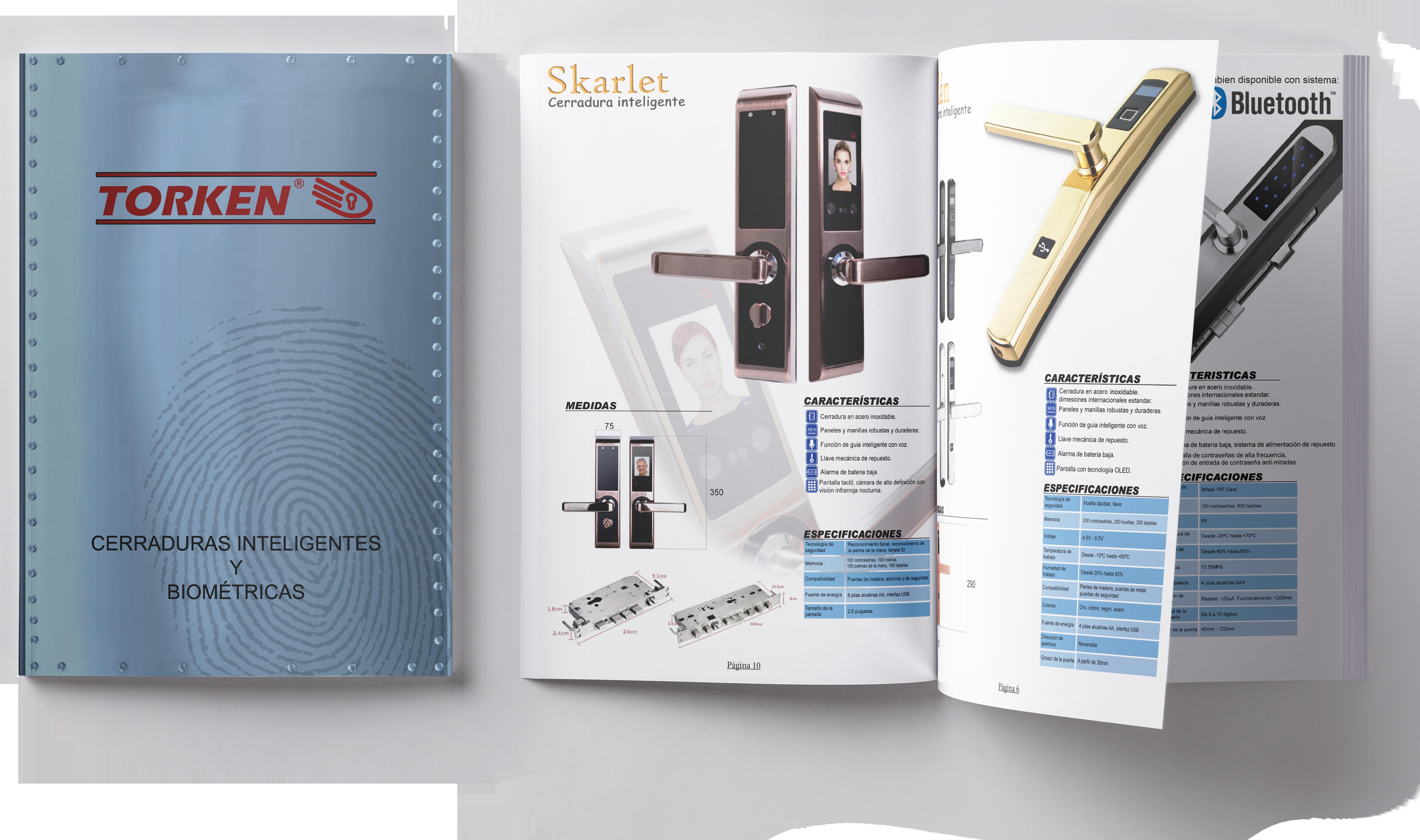 Descarga catalogo cerraduras inteligentes y biométricas para puertas y ventanas de Aluminio y PVC