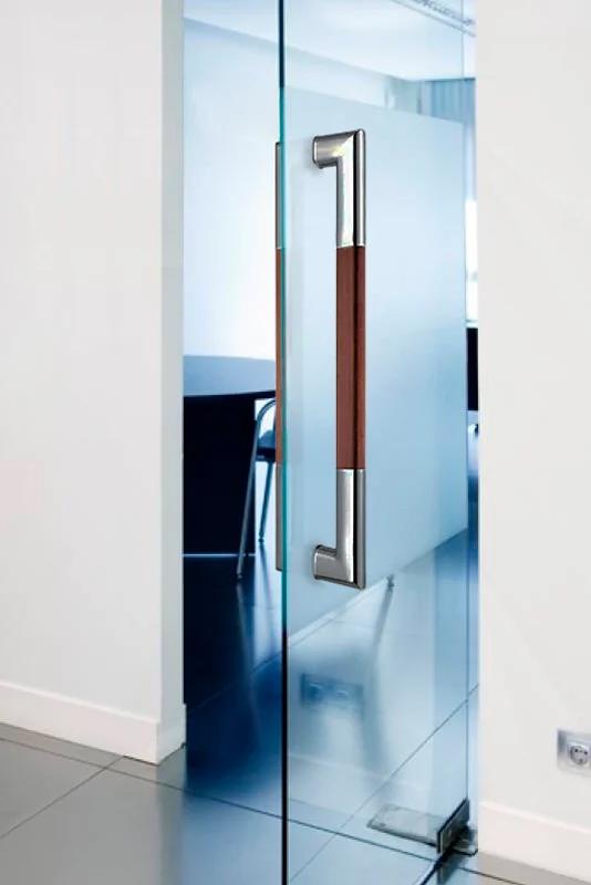 Tirador puerta acero inoxidable para puertas de cristal, madera o Aluminio oficina 2