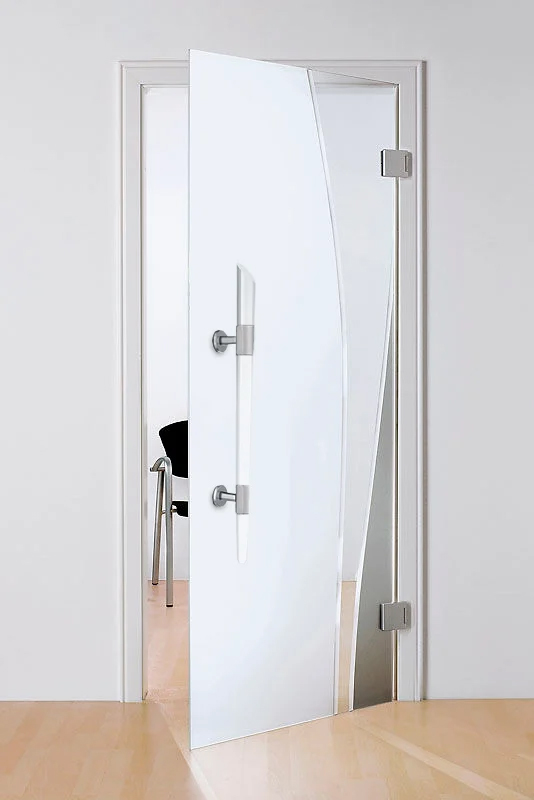 Tirador puerta acero inoxidable para puertas de cristal, madera o Aluminio oficina 3