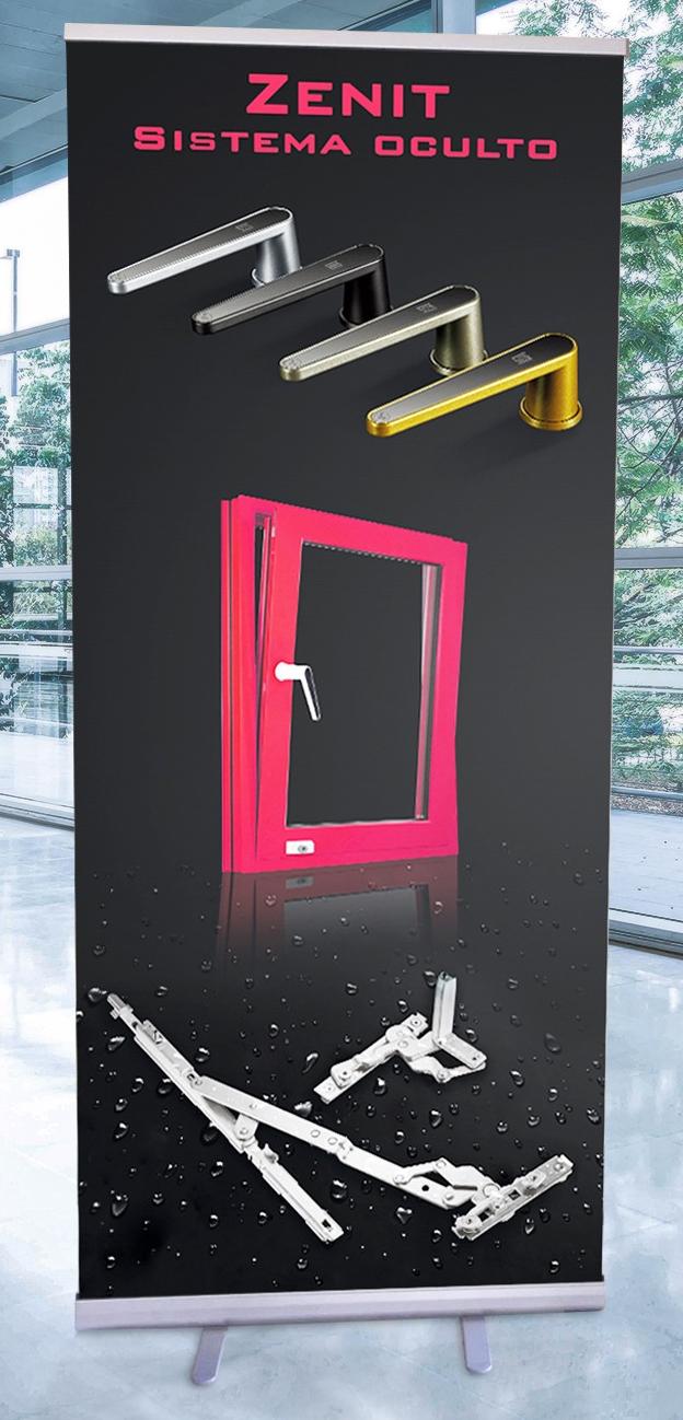 Promoción ZENIT herraje oculto de ventanas de Aluminio y PVC
