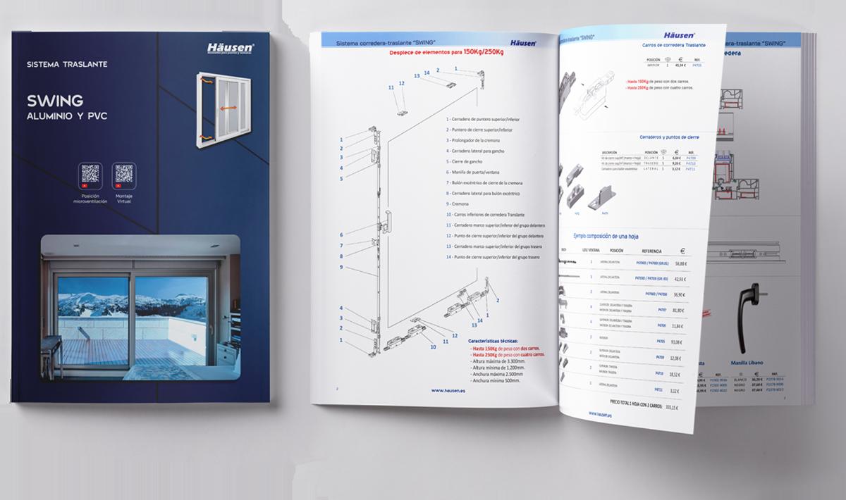 Catálogo corredera traslante SWING 2021