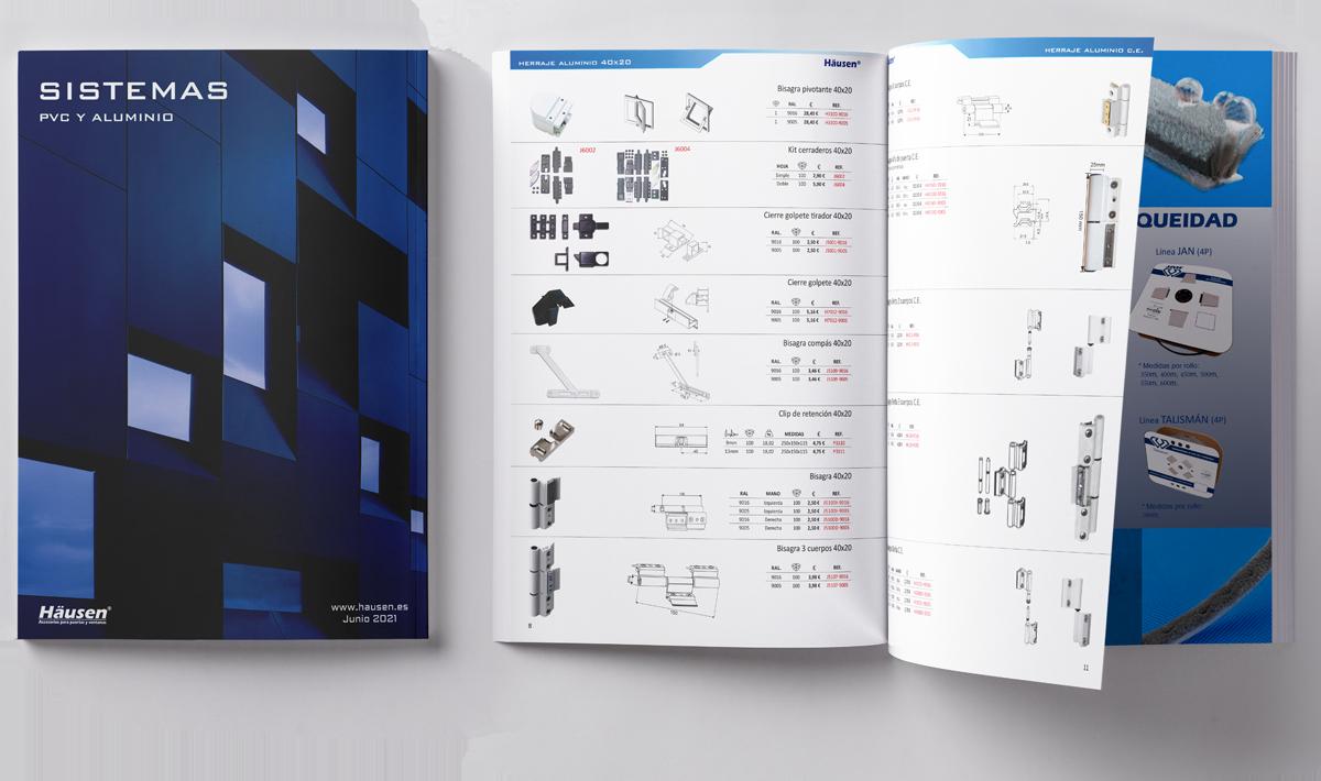 Catálogo de Sistemas con PVC y Aluminio para puertas y ventanas